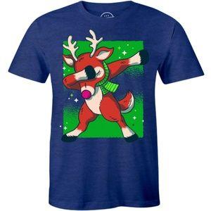 Swag Dancing Santa Deer - Funny Reindeer T-shirt